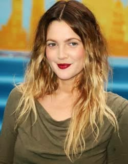 cabelo-ombre-hair-drew-barrymore